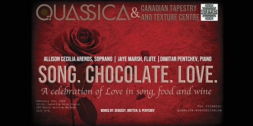 Song Chocolate Love - An evening of music, food and wine.