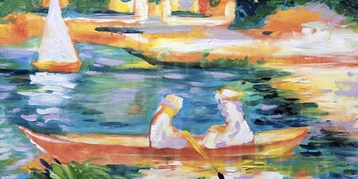 Paint Like Renoir (Dine In)