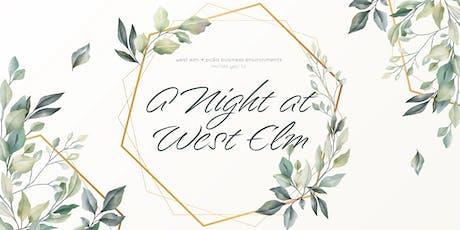 A Night at West Elm - Richmond tickets