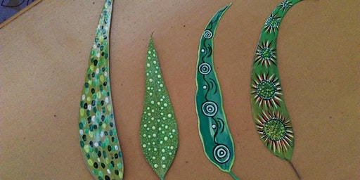 Leaf Painting – a Traditional Dot Painting Workshop at Marion Cultural Centre Library