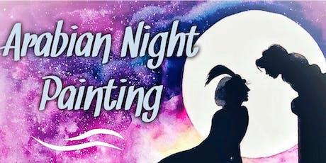 Arabian Night Painting workshop tickets