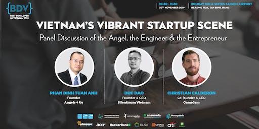 Panel Discussion: Vietnam's Vibrant Startup Scene