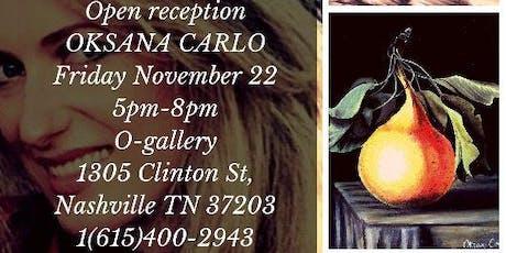 Art Reception for Oksana Carlo tickets