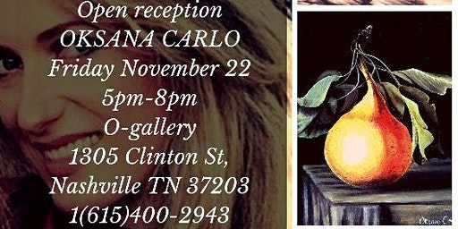 Art Reception for Oksana Carlo