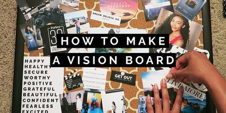 VISION BOARD & TRAVEL EVENT tickets