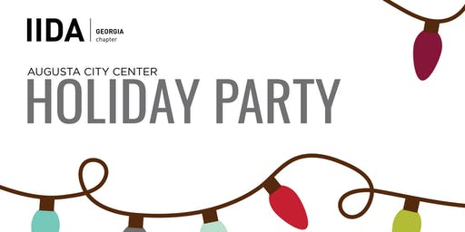 IIDA Georgia Chapter - Augusta City Center Holiday Party