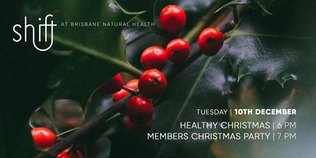 Healthy Christmas Workshop and VIP Christmas Party tickets
