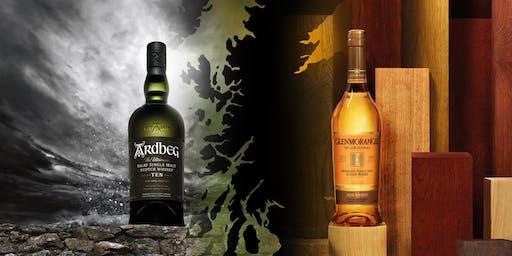 Ardbeg & Glenmorangie Scotch Whisky Tasting