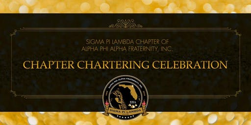 Charter Ceremony & Luncheon for Sigma Pi Lambda Chapter of Alpha Phi Alpha