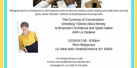 The Currency of Conversation Business Networking Dinner tickets