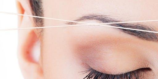 Eyebrow Threading Training! Marietta, Ga, Kit+Certificate included!