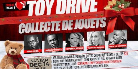 Child At Heart Toy Drive/ Enfants A Cœur Collecte de Jouets tickets
