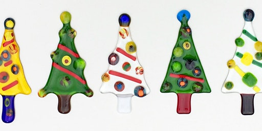 Make your own Fused Glass Christmas Tree Decoration