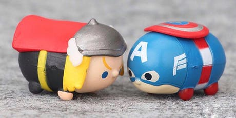 Avengers Clay Magnet craft workshop tickets