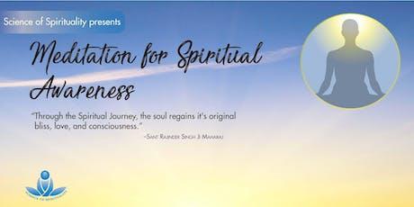 Meditation for Spiritual Awareness tickets