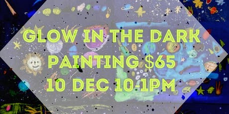 Glow in the dark painting Workshop tickets