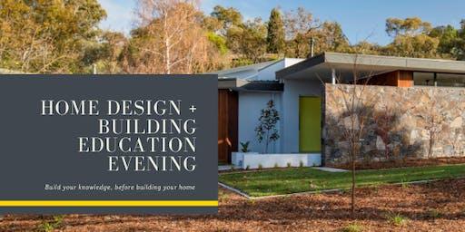 Home Design + Building Education Evening