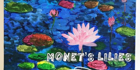Monet's Lilies painting workshop tickets