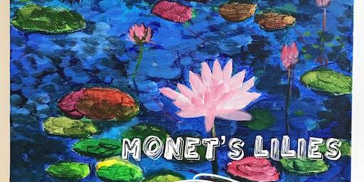 Monet's Lilies painting workshop