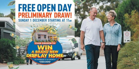 Open Day & Premilinary Draw tickets