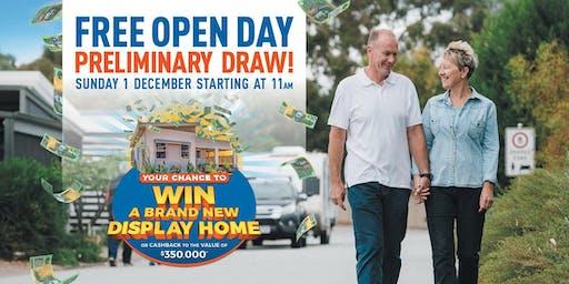 Open Day & Premilinary Draw
