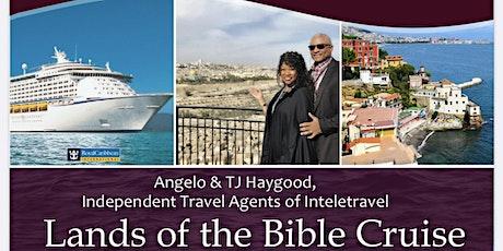 2020 Holy Land/Bible Land Cruise & Educational Tour tickets