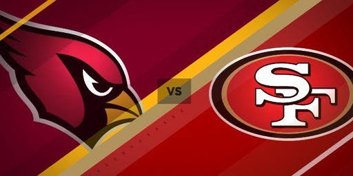 Watchparty - Cardinals vs 49ers