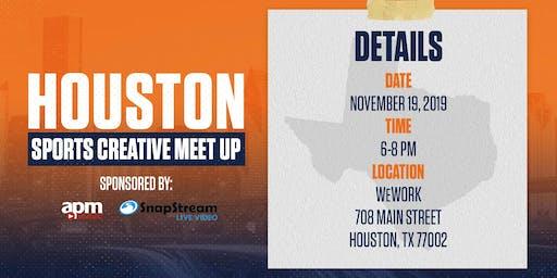 Houston Sports Creative Slack Meetup