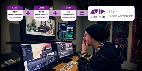 MC101/MC110 Avid Media Composer Fundamentals I & II Combined tickets