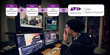 MC101/MC110 Avid Media Composer Fundamentals I & II Combined tickets