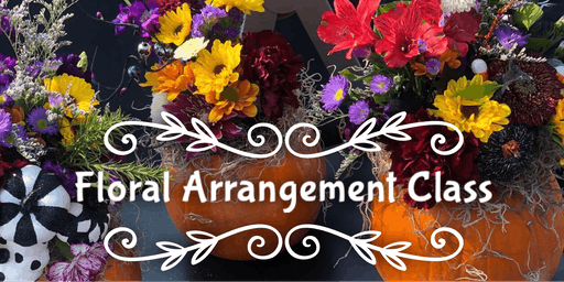 Twisted Stems Holiday Floral Arrangement Class