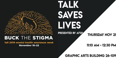 Talks Save Lives Presented by AFSP