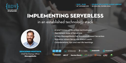 #Keynote: Implementing Serverless in an established technology stack