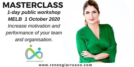 Limitless Leadership Masterclass - 1 day workshop - Melbourne - October 2020 tickets