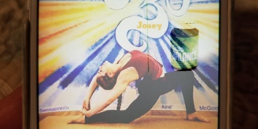 Essential Oil Infused Yoga with a Make & Take