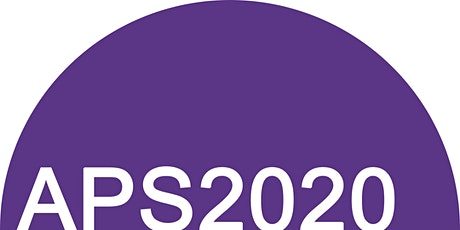 APS2020 Conference tickets