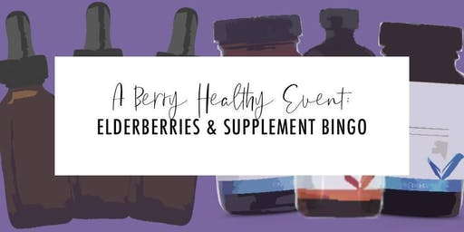 Elderberry/Wolfberry Syrup Class