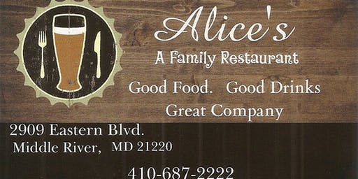 Celebrate With Us! - Alice's - A Family Restaurant 1st Year Anniversary