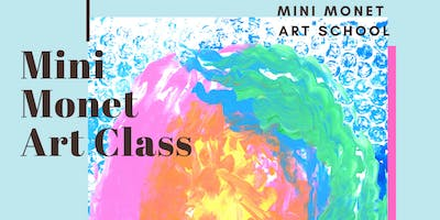 MINI MONET: Painting & Rainbows