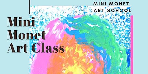 MINI MONET: Painting & Rainbows