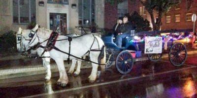 Holiday House Lighting Contest - Wagon Rides
