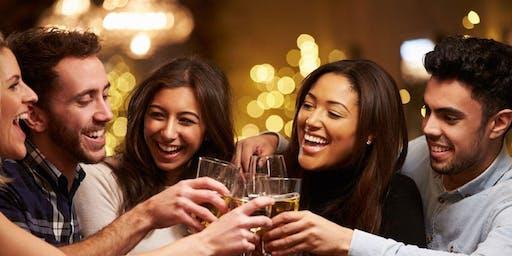 Speed Friending: Rencontrez des dames et messieurs! (25-45)(FREE Drink) BRU