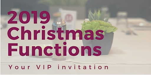 2019 AHTS Christmas Functions