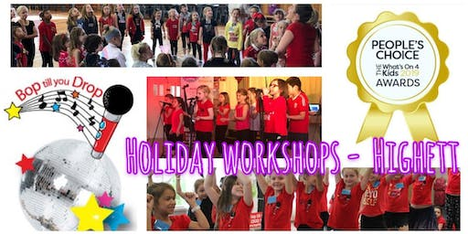 Bop till you Drop HIGHETT Summer School Holiday Performance Workshop for Children (2 days) BOOK EARLY AND SAVE!