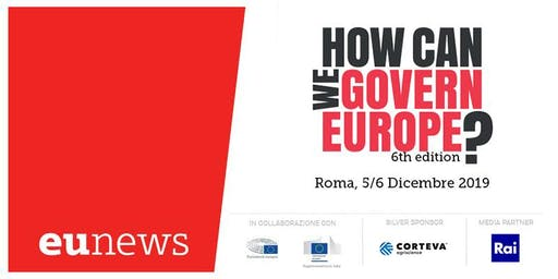 How Can We Govern Europe? - Sesta edizione