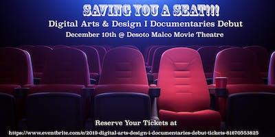 2019 Digital Arts & Design I Documentaries Debut