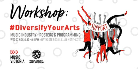 Diversify Your Arts: Rosters & Programming tickets