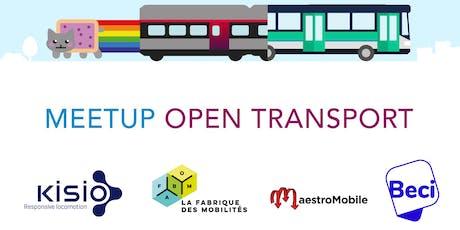Meetup Open Transport Bruxelles billets