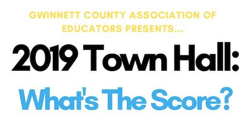 GCAE Annual Town Hall Meeting