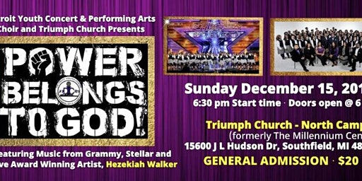 Detroit Youth Choir presents: Power Belongs to God